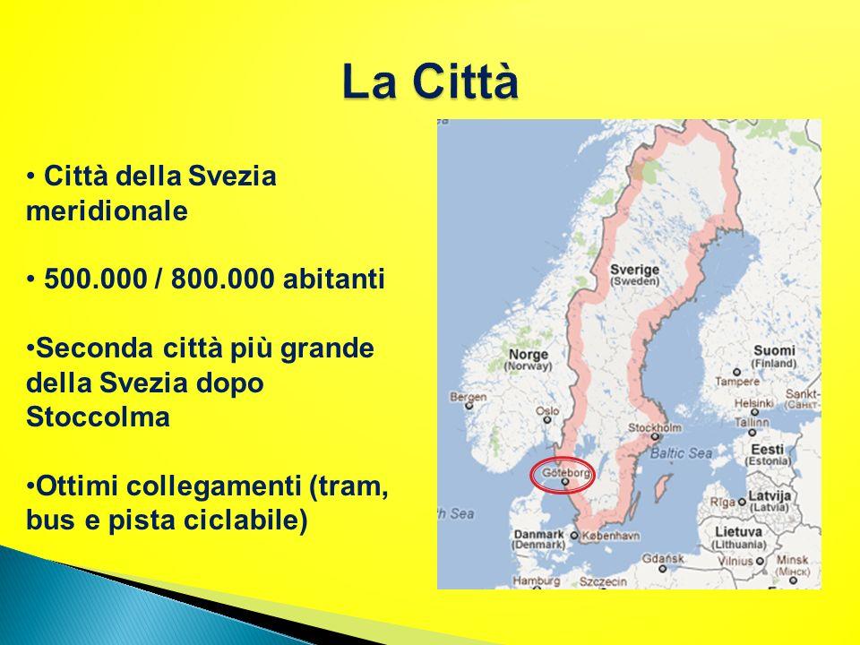 La Città Città della Svezia meridionale 500.000 / 800.000 abitanti