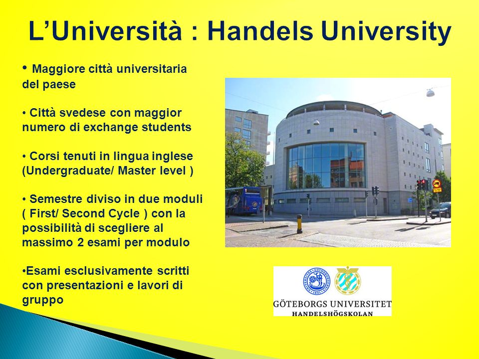 L'Università : Handels University