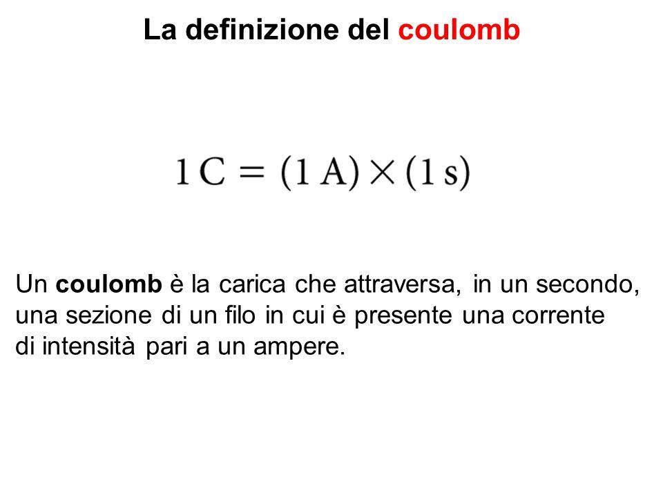 La definizione del coulomb