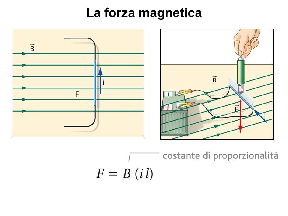 La forza magnetica Che relazione c'è tra la forza magnetica che agisce sul filo e la sua lunghezza