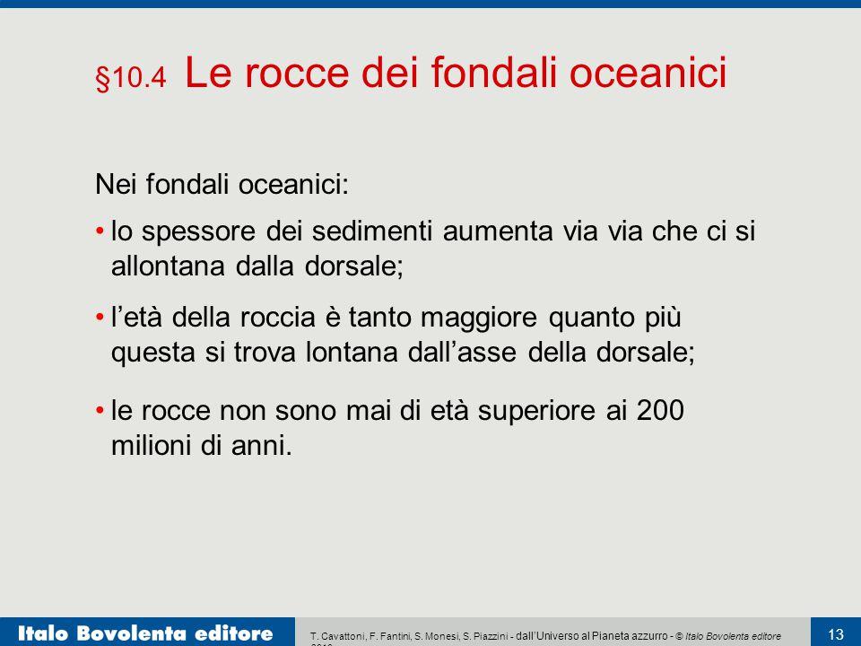 §10.4 Le rocce dei fondali oceanici