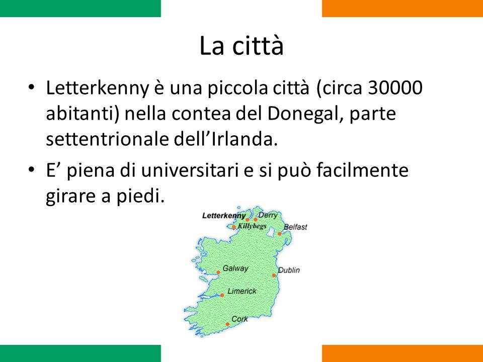 La città Letterkenny è una piccola città (circa 30000 abitanti) nella contea del Donegal, parte settentrionale dell'Irlanda.