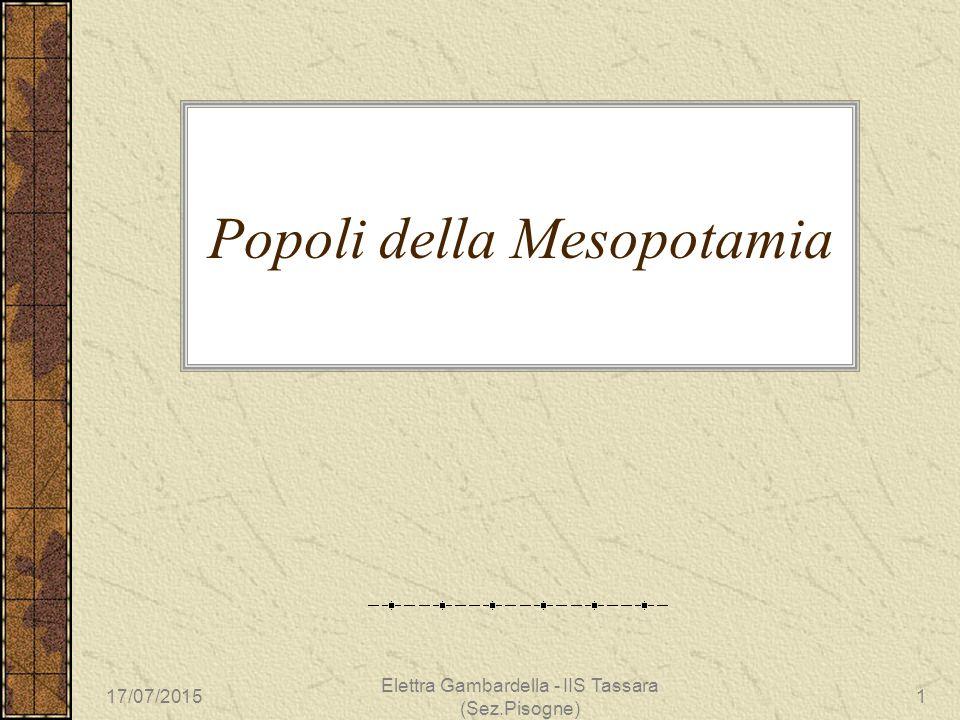 Popoli della Mesopotamia