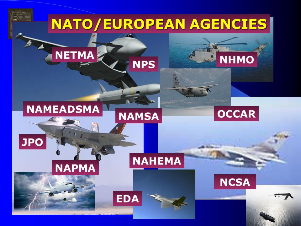 NATO/EUROPEAN AGENCIES