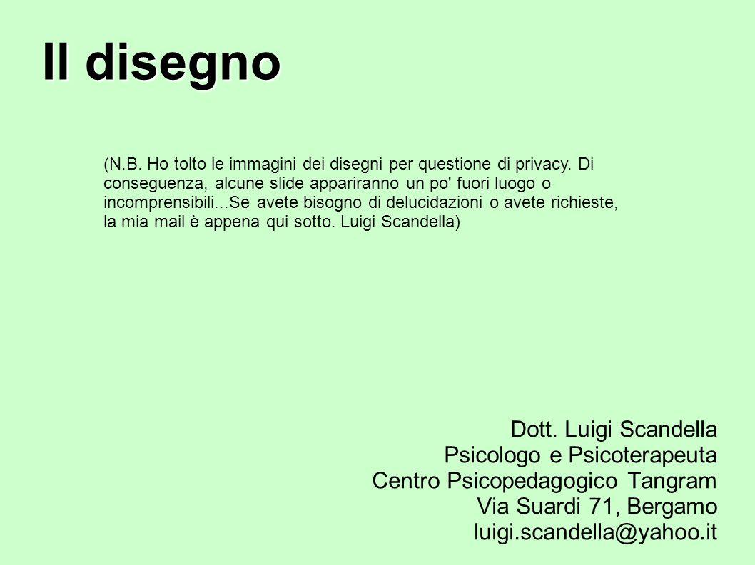 Il disegno Dott. Luigi Scandella Psicologo e Psicoterapeuta
