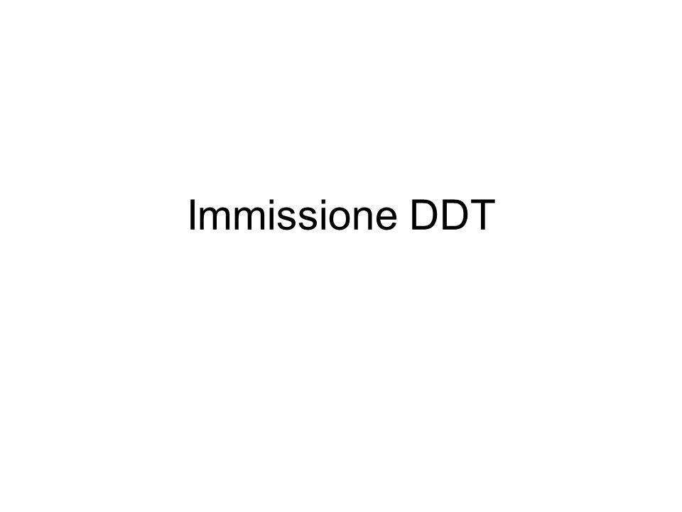 Immissione DDT