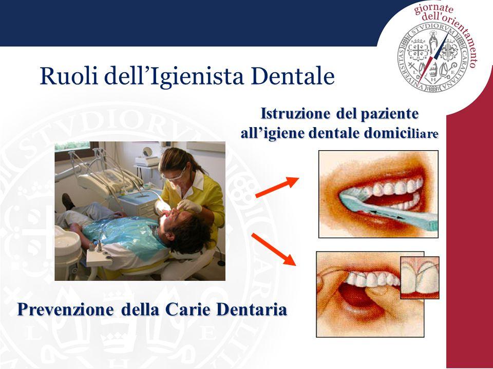 Ruoli dell'Igienista Dentale
