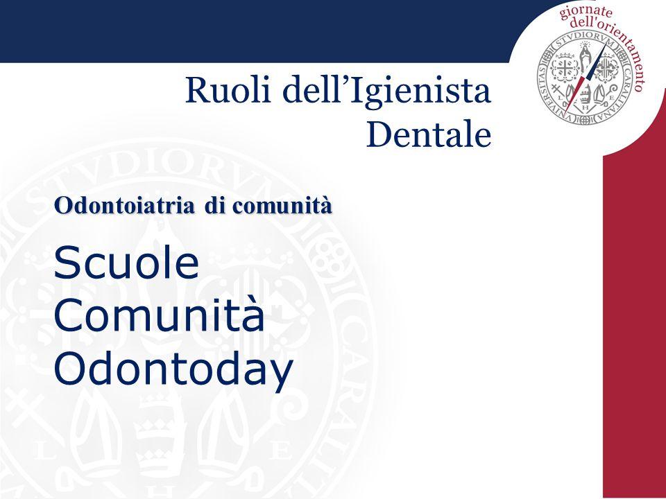 Odontoiatria di comunità
