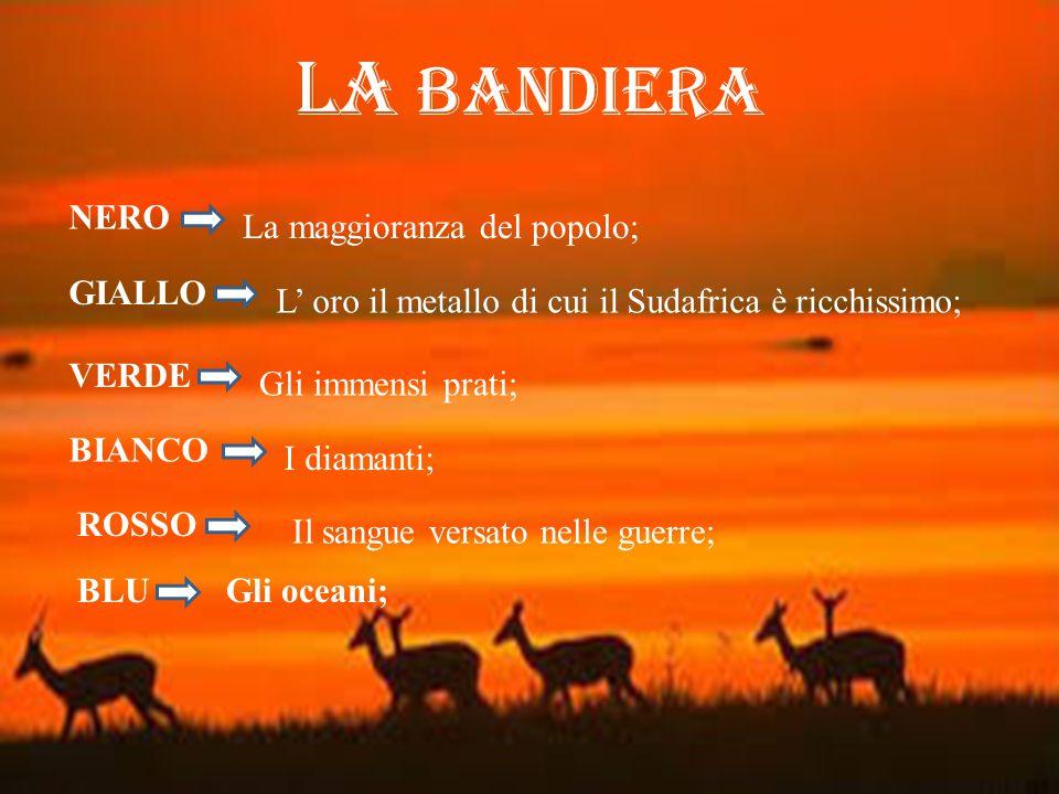 LA BANDIERA NERO La maggioranza del popolo; GIALLO