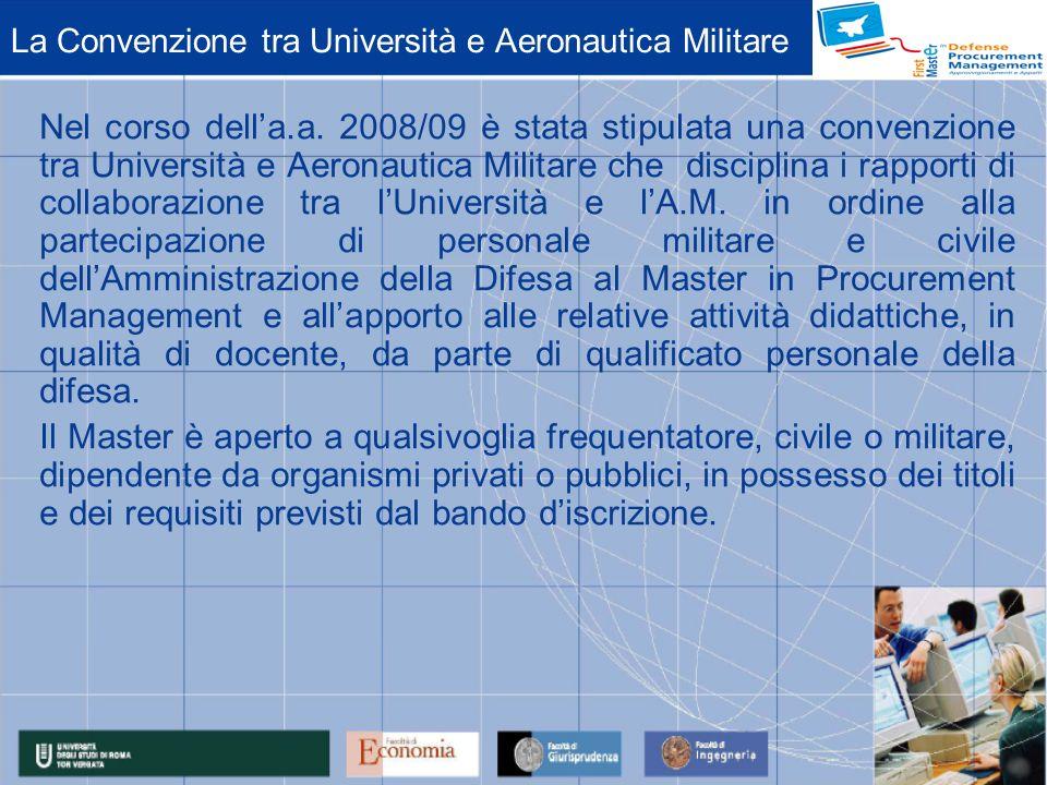 La Convenzione tra Università e Aeronautica Militare