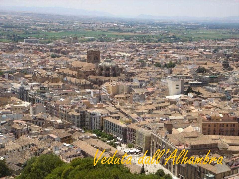 Veduta dall'Alhambra