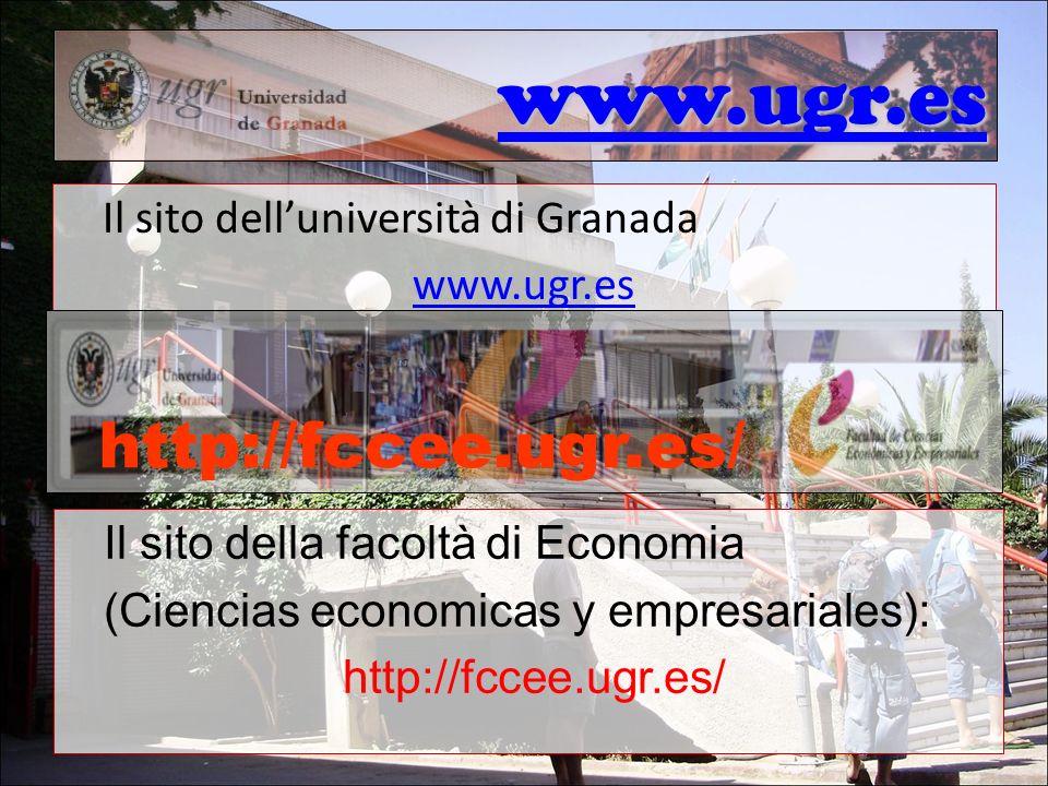 www.ugr.es http://fccee.ugr.es/