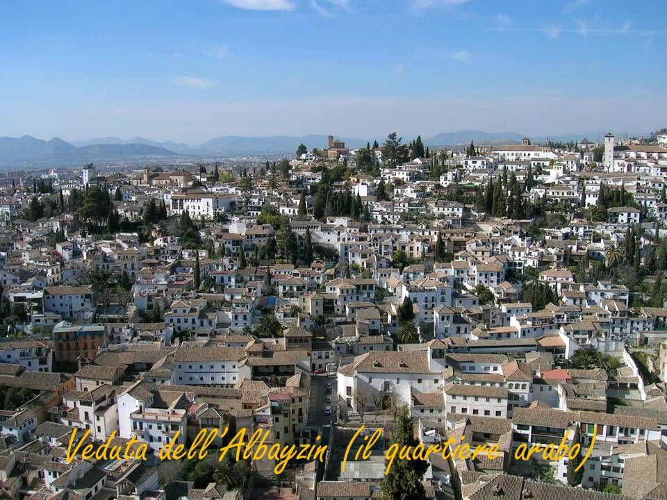 Veduta dell'Albayzin (il quartiere arabo)