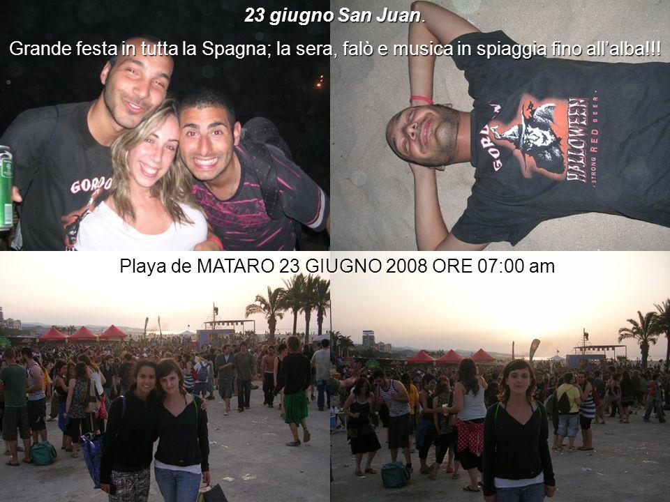 Playa de MATARO 23 GIUGNO 2008 ORE 07:00 am