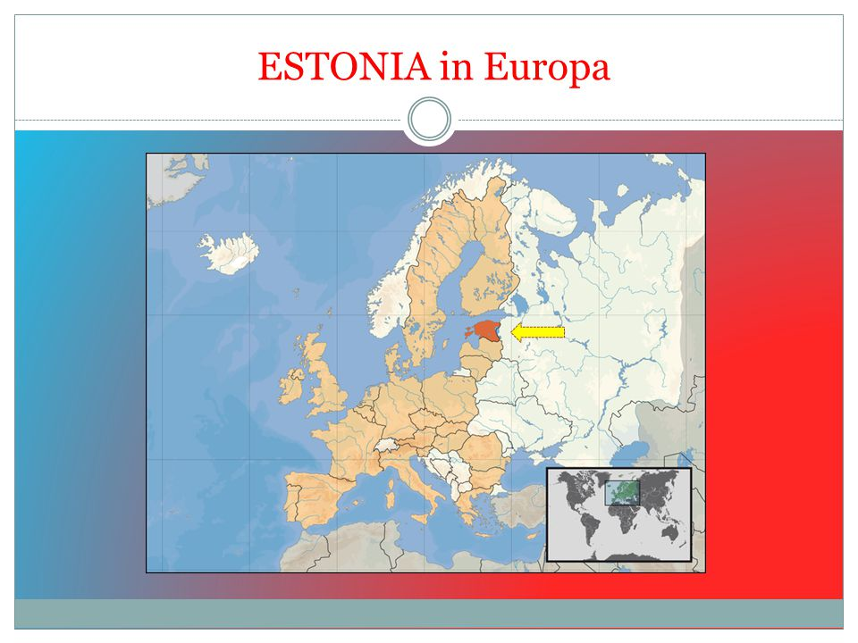 ESTONIA in Europa
