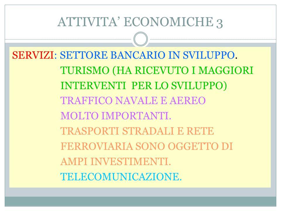 ATTIVITA' ECONOMICHE 3
