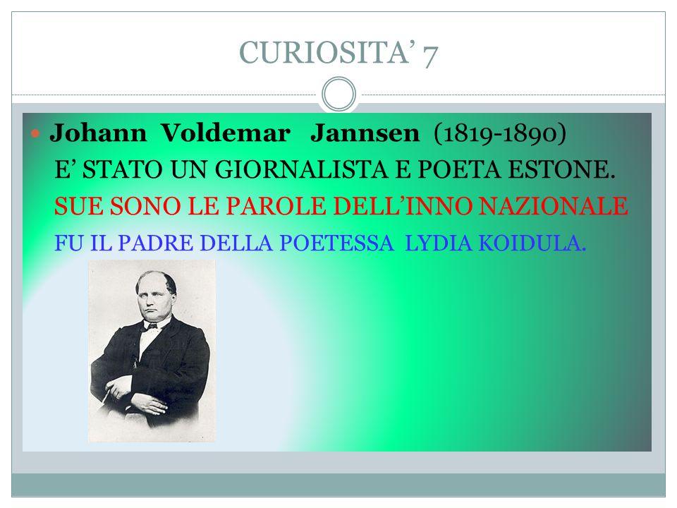 CURIOSITA' 7 Johann Voldemar Jannsen (1819-1890)
