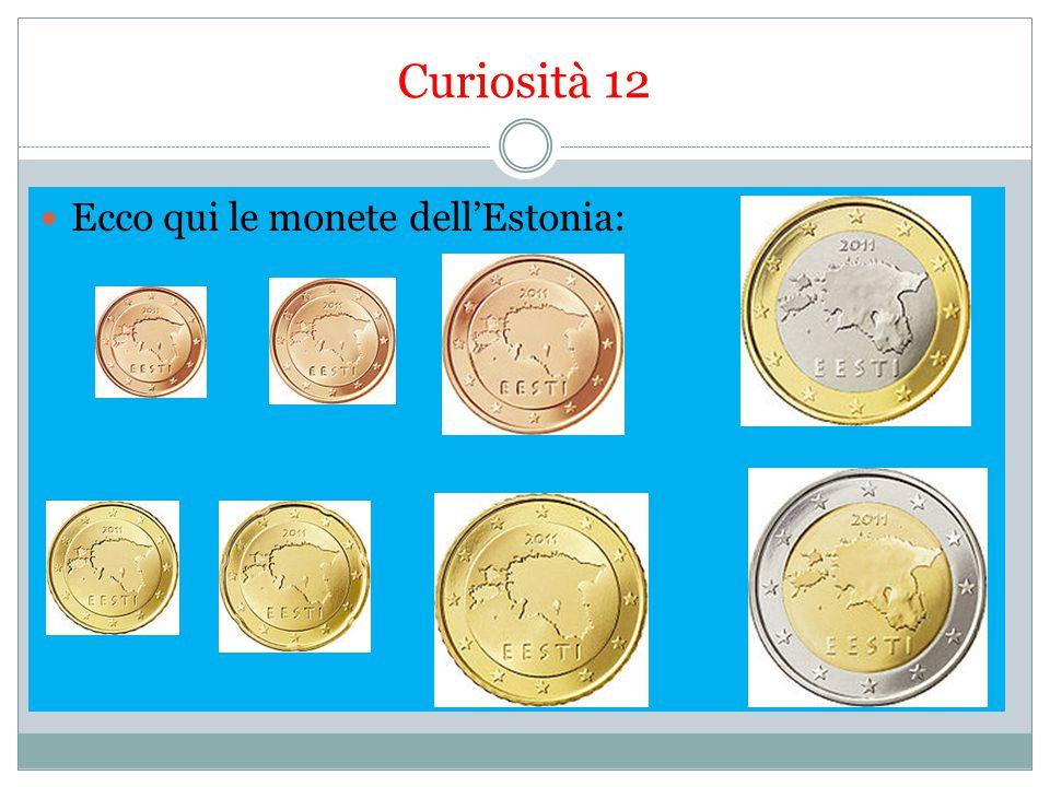 Curiosità 12 Ecco qui le monete dell'Estonia: