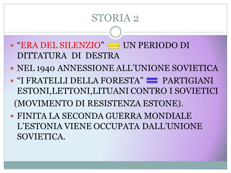 STORIA 2 ERA DEL SILENZIO UN PERIODO DI DITTATURA DI DESTRA