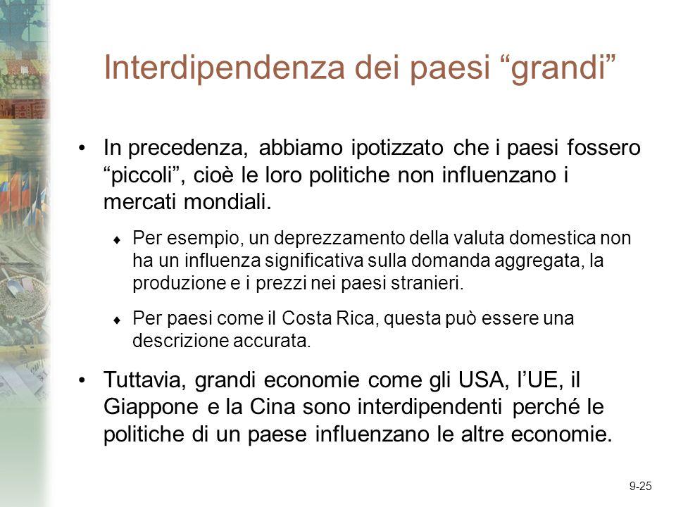 Interdipendenza dei paesi grandi