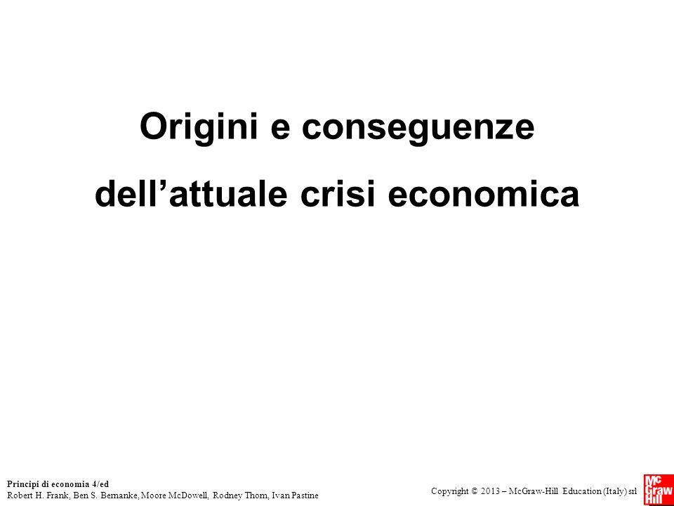 dell'attuale crisi economica
