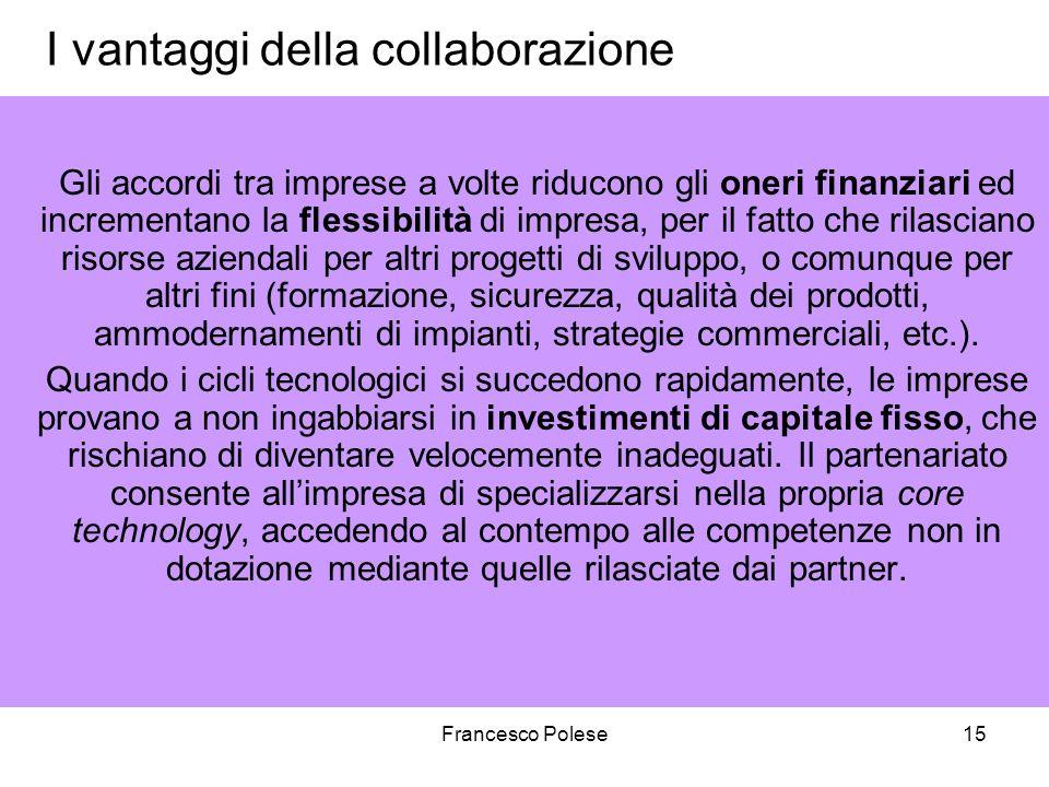 I vantaggi della collaborazione