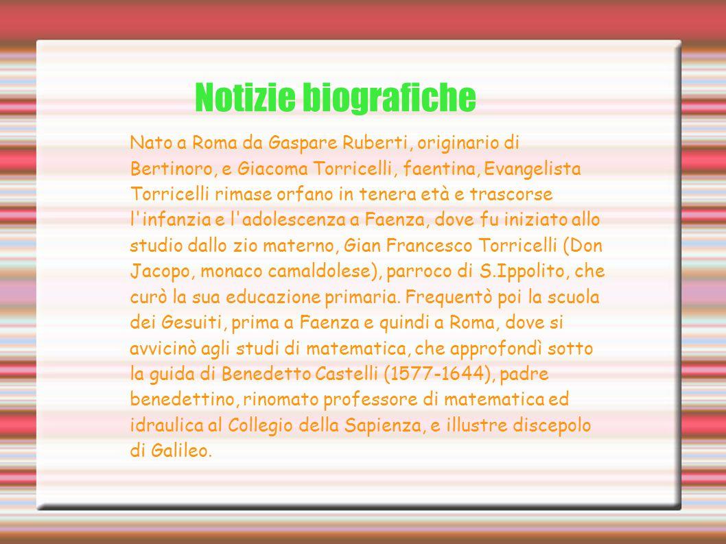 Notizie biografiche