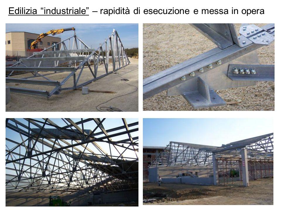 Edilizia industriale – rapidità di esecuzione e messa in opera