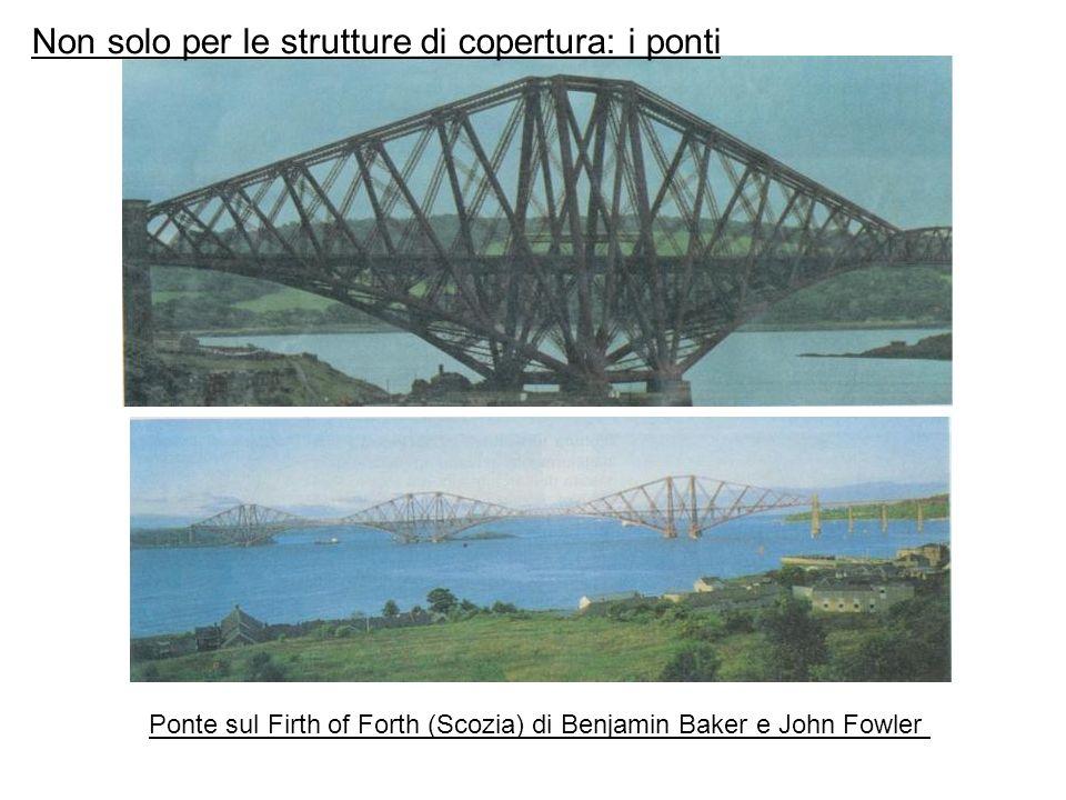 Non solo per le strutture di copertura: i ponti