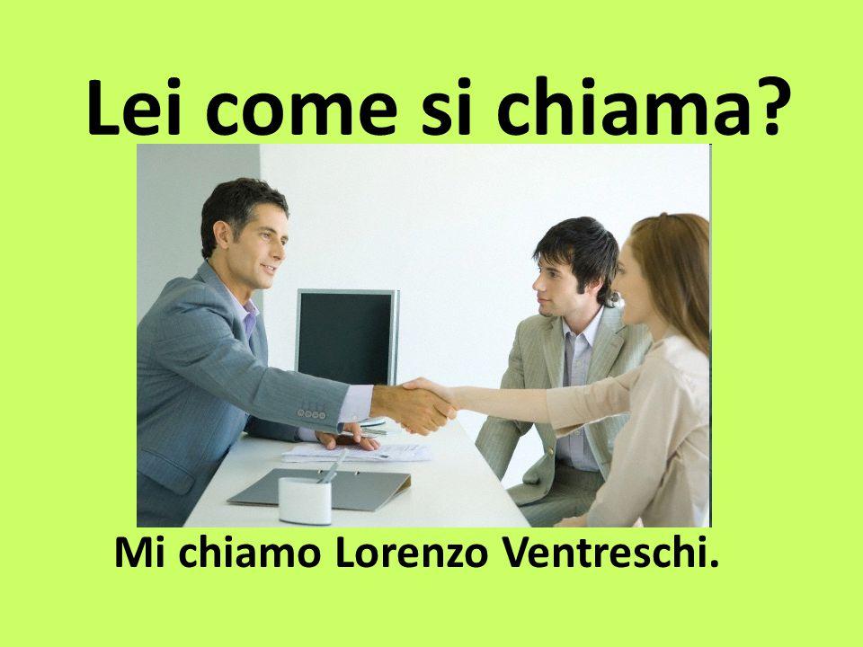 Mi chiamo Lorenzo Ventreschi.