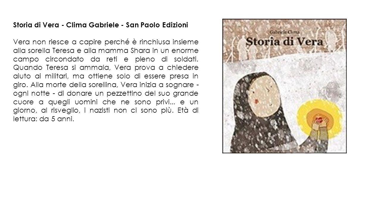 Storia di Vera - Clima Gabriele - San Paolo Edizioni
