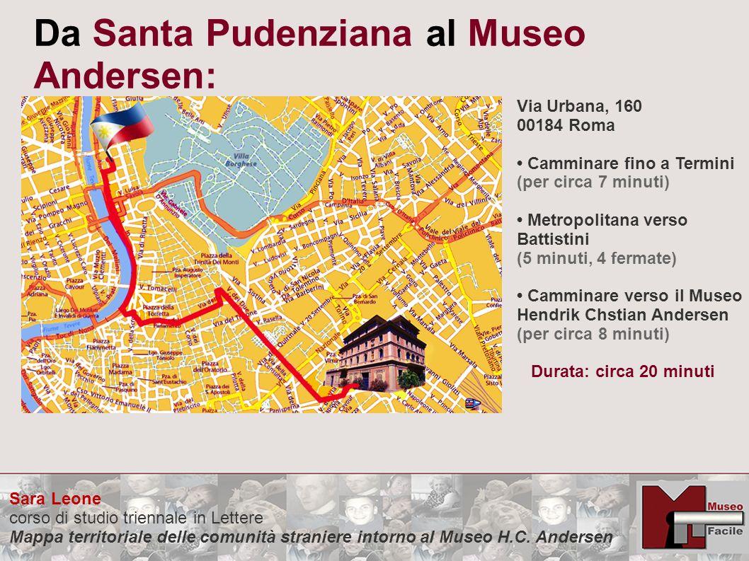 Da Santa Pudenziana al Museo Andersen:
