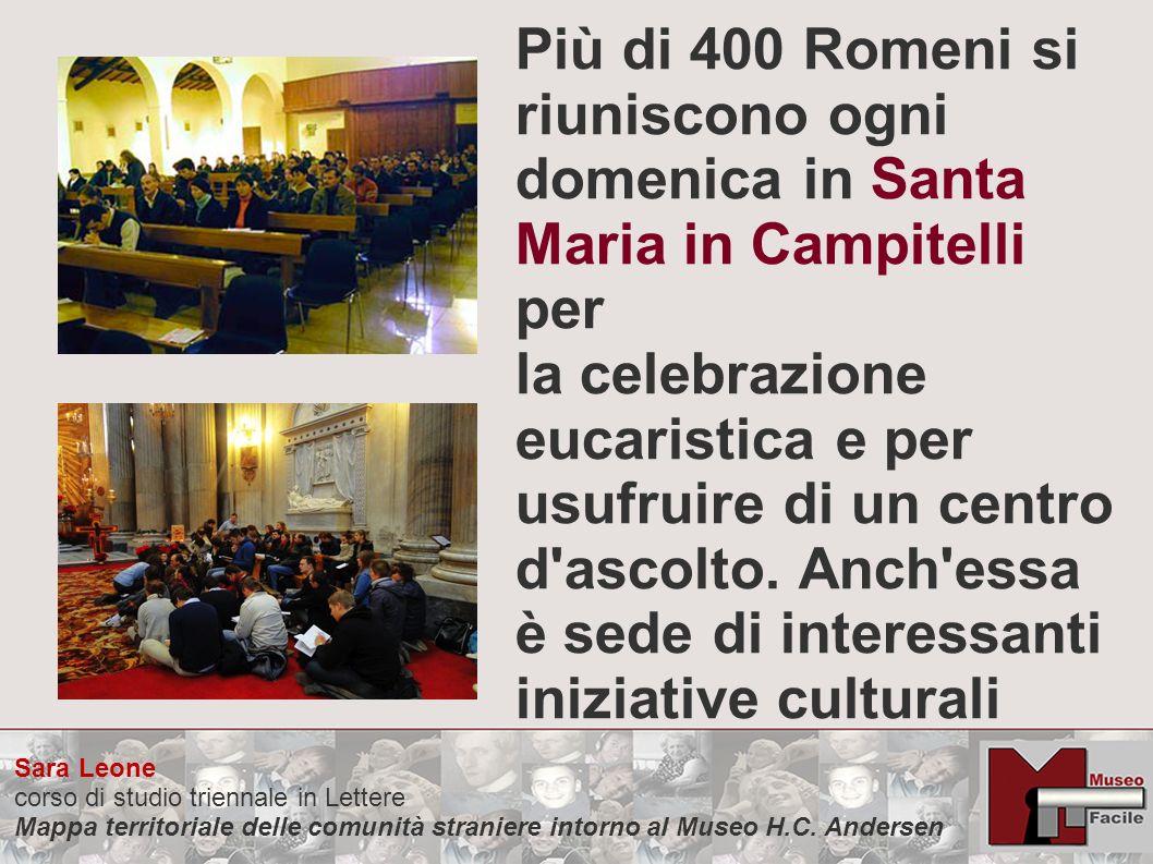 Più di 400 Romeni si riuniscono ogni domenica in Santa Maria in Campitelli per