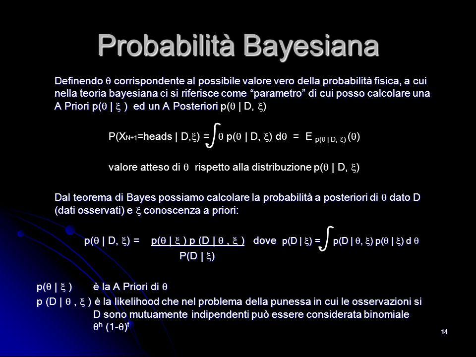 Probabilità Bayesiana