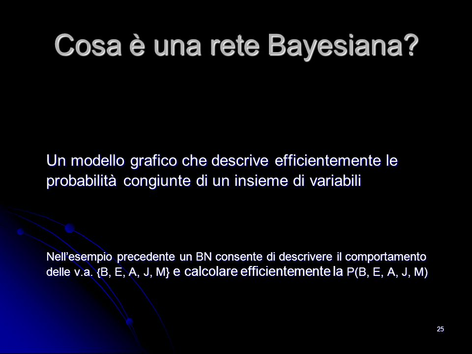 Cosa è una rete Bayesiana