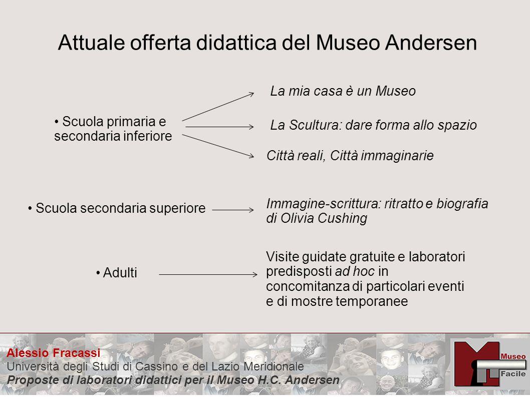 Attuale offerta didattica del Museo Andersen