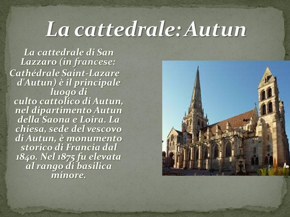 La cattedrale: Autun
