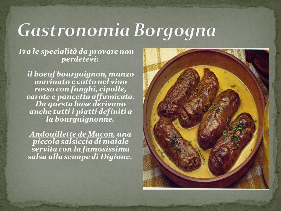 Gastronomia Borgogna