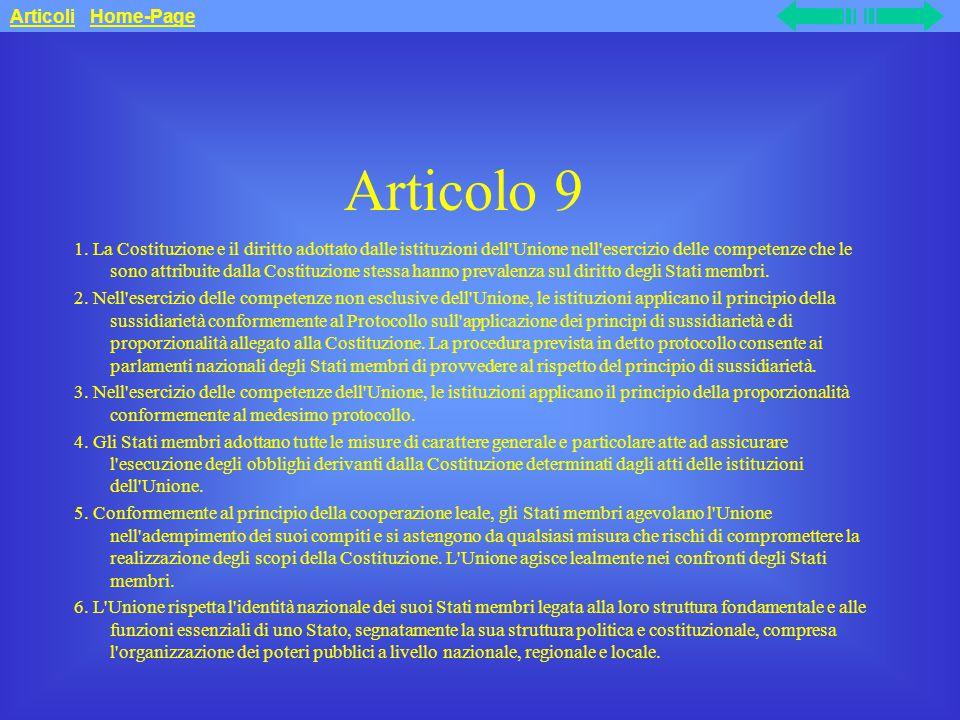 Articolo 9 Articoli Home-Page