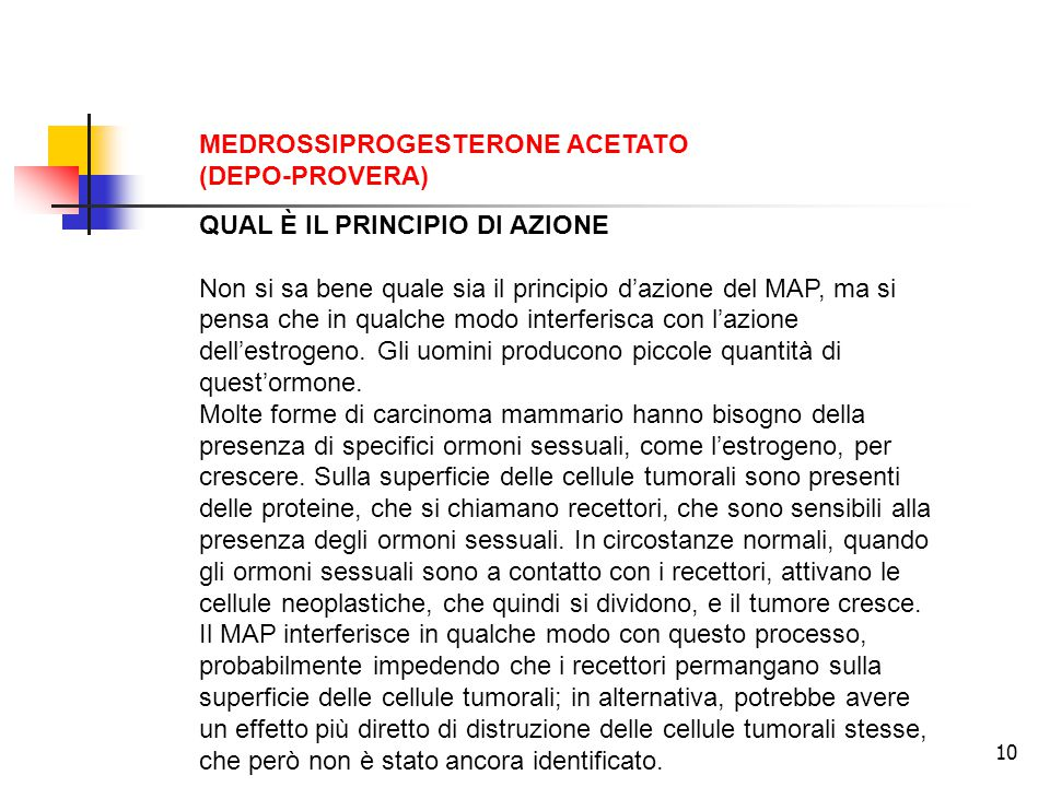 MEDROSSIPROGESTERONE ACETATO