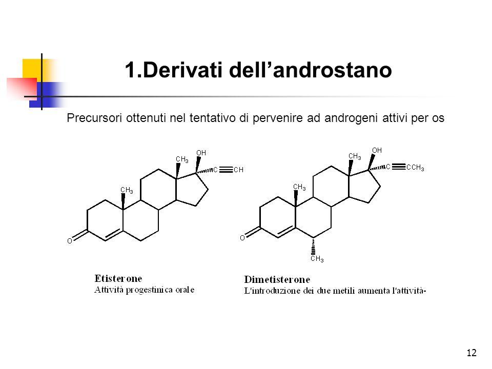 1.Derivati dell'androstano