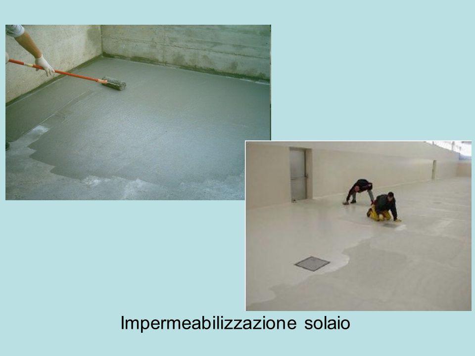 Impermeabilizzazione solaio