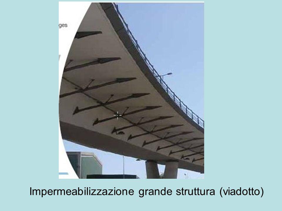 Impermeabilizzazione grande struttura (viadotto)