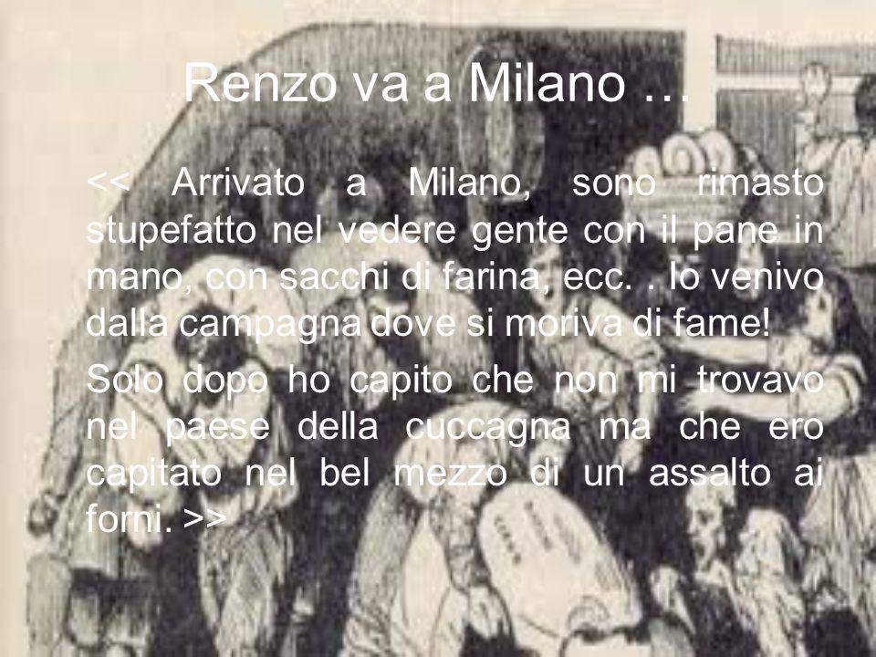Renzo va a Milano …