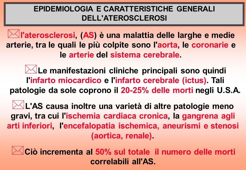 EPIDEMIOLOGIA E CARATTERISTICHE GENERALI