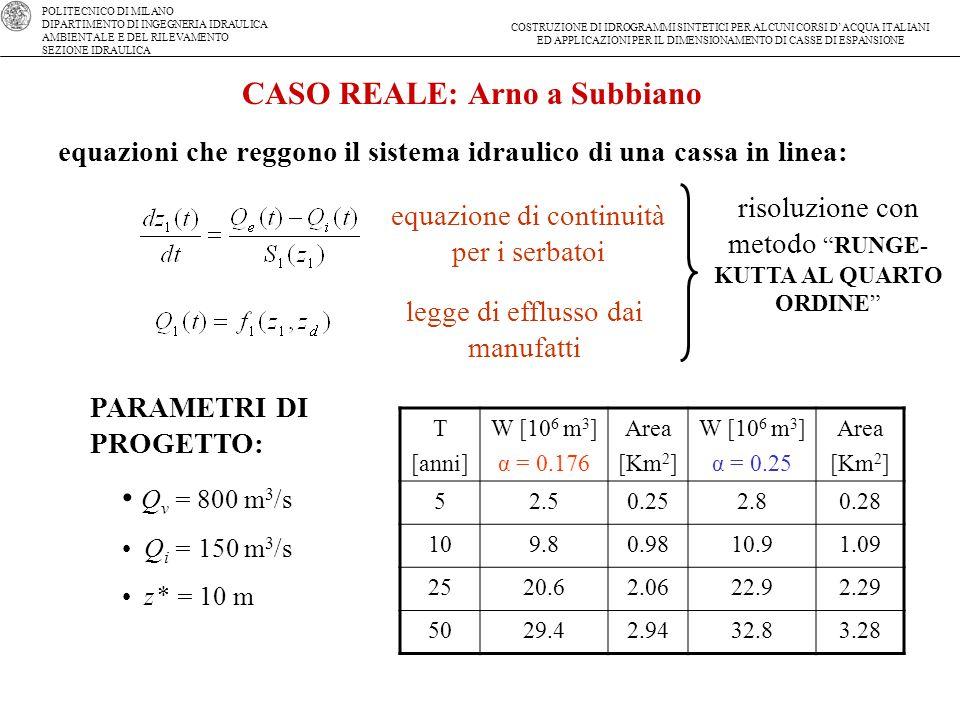 CASO REALE: Arno a Subbiano