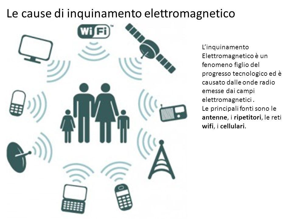 Le cause di inquinamento elettromagnetico