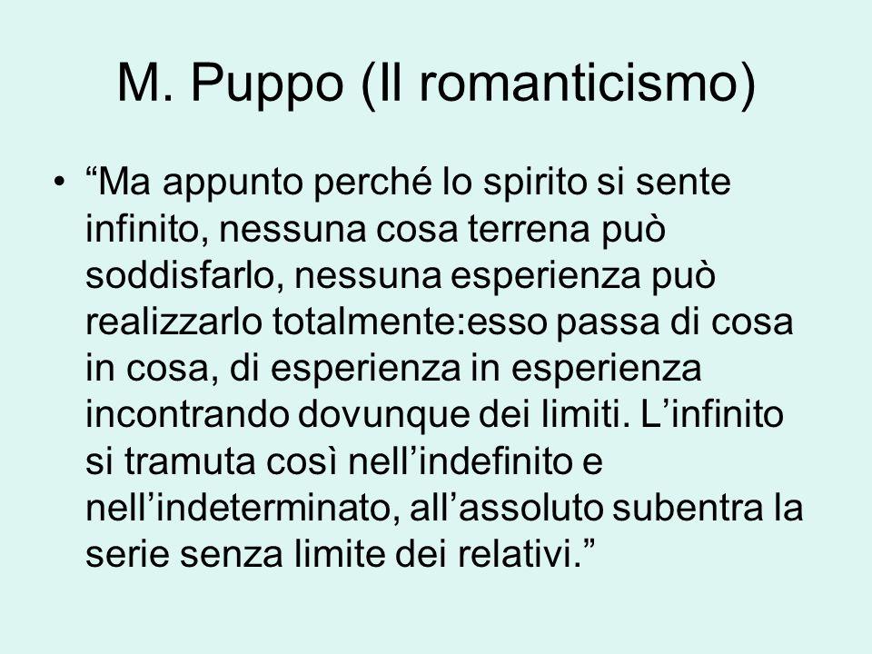 M. Puppo (Il romanticismo)