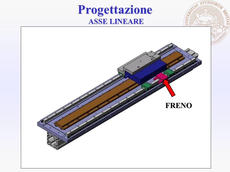 Progettazione ASSE LINEARE FRENO
