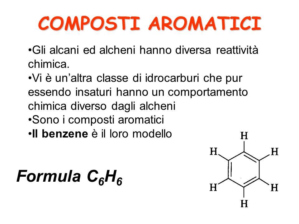 COMPOSTI AROMATICI Formula C6H6